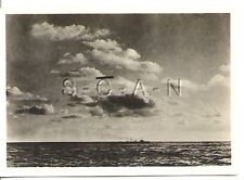WWI Org German Real Photo- Cigarette Card- Zeppelin- Navy Airship LZ 11- 1915