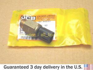 "JCB BACKHOE - GENUINE JCB SWITCH OIL PRESSURE 5/8"" UNF (PART NO. 701/80324)"
