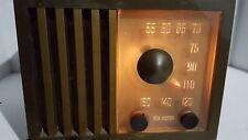 "Vintage RCA Victor Tube Radio Model 75X11 30 Watts ""Golden Throat"" -- Nice Shape"