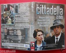 film dvd serie tv la cittadella massimo ghini barbora bobulova anna galiena raro