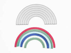 Stanzschablone: Regenbogen   BigShot kompatibel