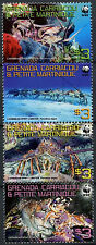 Grenadines Of Grenada 2009 WWF Spring Lobster MNH Set #99737