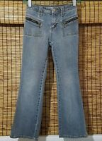 Girls Canyon River Blues Size 8 Bootcut Stretch Denim Blue Jeans