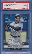 2014 Panini Prizm #76 Derek Jeter New York Yankees PSA 10 GEM MINT