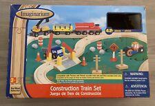 Imaginarium Wooden Train Set Thomas Brio Compatible.