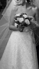 Gorgeous Berketex Rosetta Nicolini (Naomi) Wedding Dress Size 12