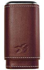 XIKAR Envoy Triple Cigar Case - Cognac Leather 243CN