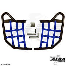 LTR 450 LTR450 Suzuki   Nerf Bars   Alba Racing   Black bar Blue nets 195 T1 BL