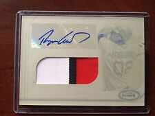 Ryan Lavarnway 2012 Topps Finest RC Auto/3-Color Patch #1/1 Red Sox FREE SHIP