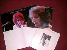 Bob Dylan At Budokan 1978 Disco Lp Vinilo Grabación prensa británica completa