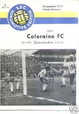 CWC - EC II 77/78 1. FC Lok Leipzig - Coleraine FC