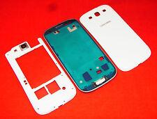 Original Samsung Galaxy S3 i9300 Handyschale Mittel Cover Gehäuse Rahmen Weiß