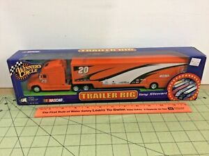 1/64 scale Winners Circle Tony Stewart 2002 Trailer Rig, hauler