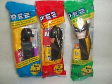 Pez Batman & Wolverine Lot