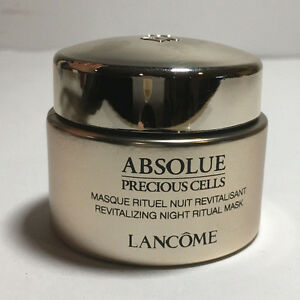 NEW LANCOME ABSOLUE PRECIOUS CELLS REVITALIZING NIGHT RITUAL MASK 15ML/0.5OZ