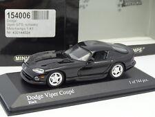 Minichamps 1/43 - Dodge Viper Coupe Noire