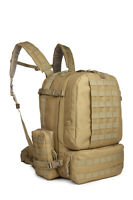 60L Outdoor Military Molle Assault Tactical Backpack Sport Camping Hiking Bag
