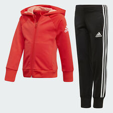 New Adidas  LG KN Girls Hooded tracksuit  5  - 9 years