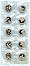 China 1990 Silver Dragon and Phoenix,  5 Jiao,  Sealed in 10pc sheet
