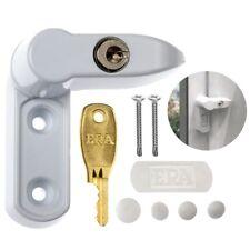 KEYED WINDOW FRAME SNAPLOCK KIT White Jammer UPVC Door Lock Security & Fixings