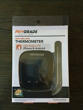 Prograde WiFi Grilling Meat Thermometer VBQ-PGT-001 Works w/iPhone & Android NIP
