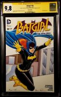 DC Comics BATGIRL #38 CGC SS 9.8 Original Art Sketch JOKER HARLEY QUINN BATMAN