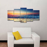 5x Modern Large Canvas Painting Picture Wall Art Poster Home Decor Unframed