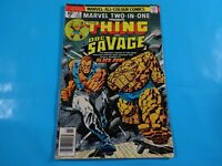 the thing and doc savage #21 uk variant  Marvel two in one comics Comic book