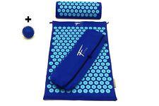 Kit d'acupression  acupuncture  massage relaxation sport 68x42x2,5cm  Bleu/tur