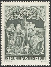Austria 1967 Christmas/Greetings/Nativity/Art/Sculpture/Artists 1v (at1023a)