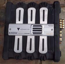 KENWOOD 640 WATTS Car amplifier