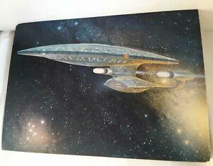 Star trek Enterprise Picards Ready Room lithograph 1987 signed Sternbach Robert