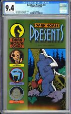 Dark Horse Presents #10 CGC 9.4 OWW 1987 3721908007 1st Masque (Mask)