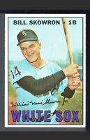 1967 Topps Bill Skowron #357 Baseball Card New York Yankees HOF