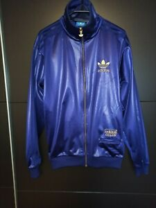 Adidas Chile 62 Trainingsjacke Jacke, Retro, Lila, Purple, ähnlich Firebird, M