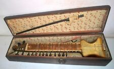 ANTIQUE TRADITIONAL INDIAN DILRUBA STRING FOLK MUSIC INSTRUMENT ESRAJ SITAR
