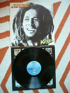 Bob Marley & The Wailers Kaya Vinyl UK 1978 Island Blue Labels A7/B5 Reggae LP