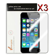 3x Apple iPod Touch 4th High Defintion Clear Screen Protectors Japan Material