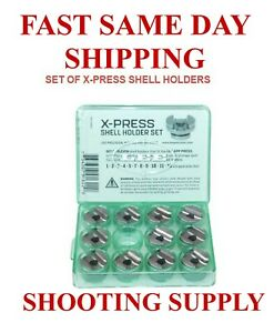 LEE X-Press Shell Holder Set of 11 New FAST SAME DAY SHIPPING 91622