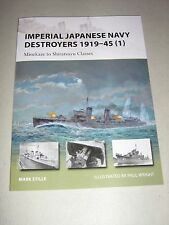 New Vanguard: Imperial Japanese Navy Destroyers 1919-45 (1) : Minekaze to...