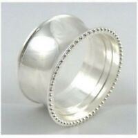 Silver Ring Napkin Rings in Sets of Four, Six or Eight