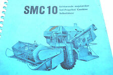 Original 1966 Dronningborg Spare Parts List For Model Smc 10 Combine Harvester