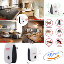 10x New Ultrasonic Electronic Anti Mosquito Pest Bug Insect Cockroach Repeller