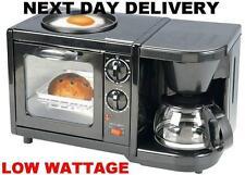 New 1150 Watt Low Wattage Camping Caravan Oven Griddle Coffee Maker Combination