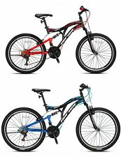24 Zoll Fahrrad Kinderfahrrad Mountainbike MTB Cross Bike 21 Gang Micro Shift