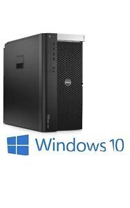 Dell Precision T7600 2x  Xeon E5-2690 2.9ghz 128GB 240ssd 3tb K1200 4GB  PC