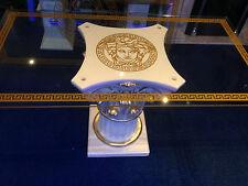 Glastisch Esstisch medusa mäander Barock Säule Wohntisch  6031 53 141 Bürotisch