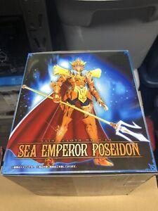 Saint Cloth Myth EX Sea Emperor Poseidon Julian Solo Bandai NEW