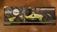 2019 Indy 500 Winner Simon Pagenaud 1/18 w/FIGURE Greenlight 1 OF 500 SOLD OUT