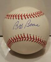 Bob Boone Signed Rawlings Official MLB Baseball Steiner COA